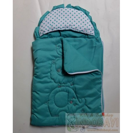 Sleepingbag Baby Omiland Animal Garis idr 89rb per pc
