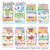 Kaos Lovelle Cart idr 100rb per pack isi 5pc