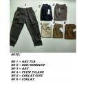 Celana Panjang Katun stretch uk 1-4th idr 40rb, uk 5-8th idr 45rb per pc
