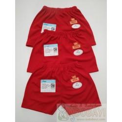 Celana Pendek Miyo Baby Merah 0-3bl idr 45rb per 3pc