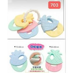 Teether Gigitan Bayi 3 Buah idr 20rb per pc
