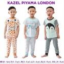 Setelan Pendek Panjang Kazel Boy Piyama London
