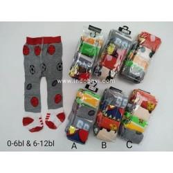 Celana Legging Baby Motif 0-6bl dan 6-12bl idr 65rb per pack isi 4pc