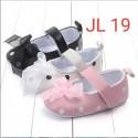 Sepatu Bayi Prewalker Velcro Polka JL 26 uk 0-6bl, 6-12bl, 12-18bl idr 45rb per psg