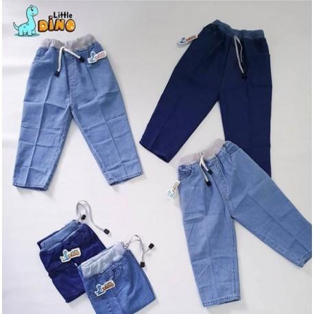 Celana Rip (pinggang karet) Soft Jeans