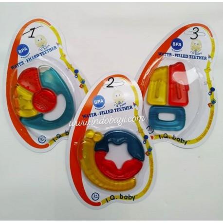 Gigitan Bayi IQ Baby BPA Free Tiga Warna Idr 24rb Per Pc