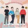 Celana Panjang Chinos Anak Katun Twill Fany, uk 4-5th, uk 5-6th idr 70rb per pc.