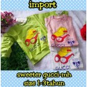 Sweeter Baby Gucci idr 36rb per set