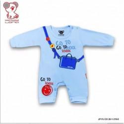 Romper Baby Lona Panjang Go To School 0-3bl idr 46rb per pc