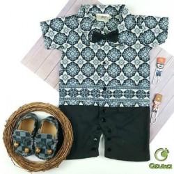 Romper Baby Batik Ozuka 01 0-6bl idr 66rb Per pc