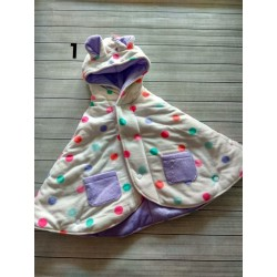 Jaket Babycloak New Motif uk 0-24bl idr 70rb per pc