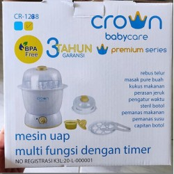 Crown Multifunction Mesin Uap idr 265rb per pc