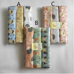 Bedong Flanel Winteku uk 115 x 80cm idr 78rb per pack isi 3pc