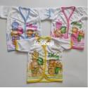 Baju Pendek Baby Relaxing 0-6bl idr 20rb per 3pc