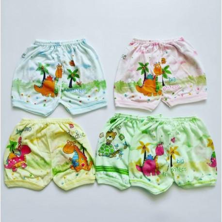 Celana Pendek Miyo Polos Warna 3-6bl idr 50rb per 4pc