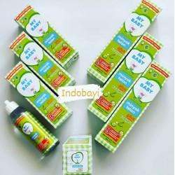 Minyak Telon My Baby Plus uk 60ml idr 19k, uk 90ml idr 24k per pc