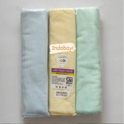 Bedong Libby Polos Warna uk 110 x 90cm idr 120rb per pack isi 3pc