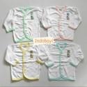 Baju Panjang Hachi Polos Putih KD Uk 14 0-6bl idr 70rb per 4pc