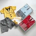 Setelan Baby Gift Set Kotak 3-12bl idr 75rb per stel