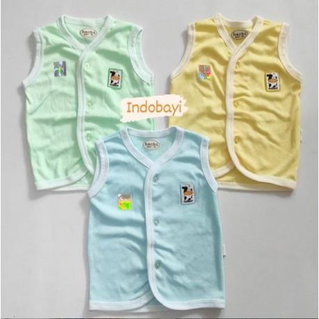 Baju Bayi kutung Polos Hachi uk 14 (0-3bl), uk 16 (3-6bl), uk 18 (6-12bl)