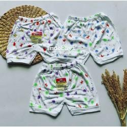 Celana Pendek Baby Best To Baby 6-18bl idr 25rb per 3pc