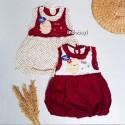 Dress Bayi Ballon Motif Duck PLANET KIDS uk 0-12bl idr 19rb per pc