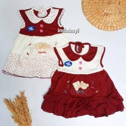 Dress Bayi Ballon Motif Candy Bear PLANET KIDS uk 0-12bl idr 19rb per pc