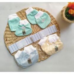 Sarung Tangan Kaki Baby Mamimu Hewan Kecil idr 11rb per set