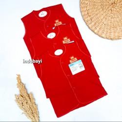 Baju Miyo Kutung Merah 3-6bl idr 40rb per 3pc