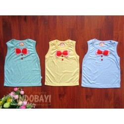 Singlet Hao Hao uk S 3-12bl, uk M 6-18bl, uk L 1-2th idr 18rb per pc