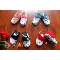 Sepatu Bayi CHedi Boy Girls idr 19rb per stel uk 2,3,4