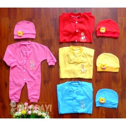 Sleepingsuit Verlita Warna 0-3bl idr 37rb per set