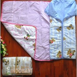 Sleepingbag Bedcover Bebiku idr 68rb per pc