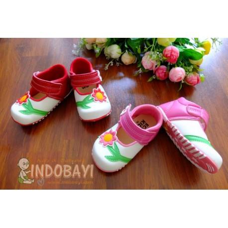 Sepatu Ecobaby Bunga idr 40rb per psg uk 24,25
