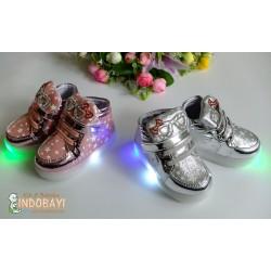 Sepatu LED Star Light idr 90rb per psg