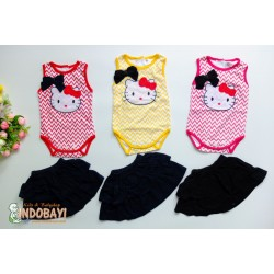 Jumper Rok Hello Kitty Garis