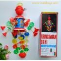 Mainan Gantung Kerincingan Merry Go Round idr 25rb per pc
