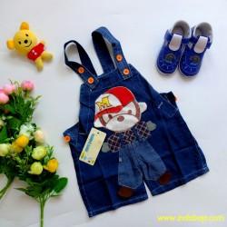 Romper Baby Kids Overall Jeans Boneka Topi idr 53rb per pc