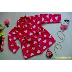 Jaket Blazer Pink Love