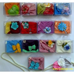 Turban Baby 0-9bl idr 28rb per pc