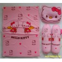 Set Kasur Lipat Bantal Guling Atta Hello Kitty idr 75rb per pc