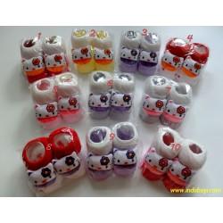 Kaos Kaki Boneka Hello Kitty 3-12bl idr 18rb per psg