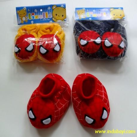 Sepatu Baby Spiderman 0-9bl idr 20rb per pc