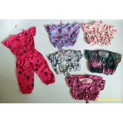 Romper Jumpsuit Baby Panjang Motif uk S 3-9bl, M 6-18bl, uk L 1-2th idr 28rb Per pc