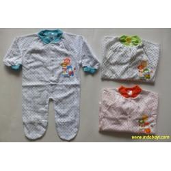 Sleepingsuit Baby GL Polka 0-3bl idr 27rb per pc