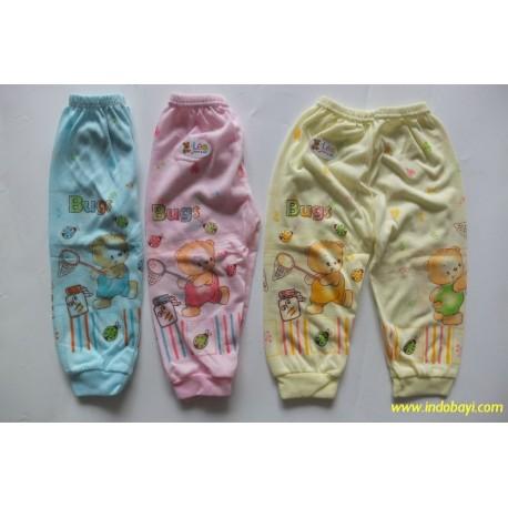 Celana Panjang Leo Bug 6-12bl idr 23rb per 3pc