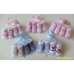 Booties Kaos Kaki Carter 0-6bl idr 28rb per pack isi 2psg