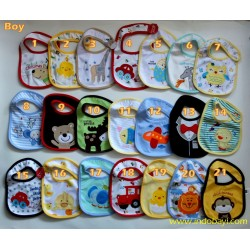 Slaber Bib Carter Boy idr 18rb per pc
