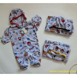 Sleepingsuit Puku Broom Broom 0-3bl idr 33rb per pc