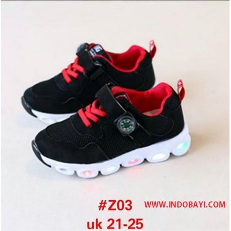 Sepatu LED Mickey idr 110rb